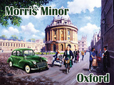 Morris Minor - Oxford Carteles metálicos por Kevin Walsh