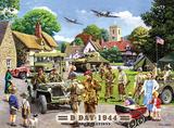 D Day Blechschild von Kevin Walsh