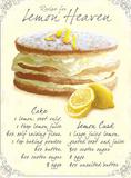 Lemon Heaven Blechschild