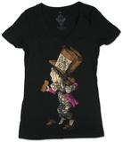 Women's: Alice in Wonderland - Hatter Skjorter