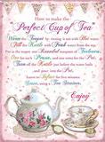 Perfect Cup of Tea Blechschild
