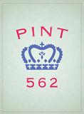 Pint 562 Blechschild