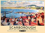 Scarborough Blechschild