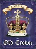 The Old Crown Blikskilt