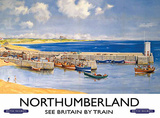 Northumberland Carteles metálicos