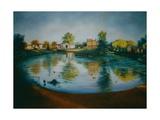 Barnes Pond, 2006 Reproduction procédé giclée par Lee Campbell