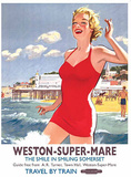 Weston - Super - Mare Blechschild