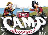 Camp Coffee Blechschild