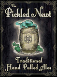 The Pickled Newt Blikskilt