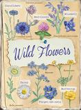 Wildflowers Tin Sign