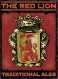 The Red Lion Blikskilt