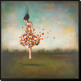 Boundlessness in Bloom Framed Print Mount by Duy Huynh