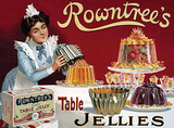Rowntree's Jellies Carteles metálicos