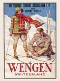 Wengen Tin Sign