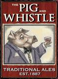 The Pig & Whistle Blechschild