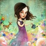 Her Secret Garden Grows Posters by  Meluseena