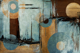 Blue Escape Kunstdrucke von Patricia Quintero-Pinto