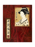 Geisha II Premium Giclee Print by Patricia Quintero-Pinto