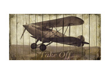 Take Off Premium Giclee Print by Merri Pattinian