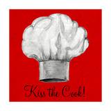 Kiss the Cook Reproduction giclée Premium par Gina Ritter