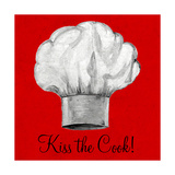 Kiss the Cook Premium Giclee Print by Gina Ritter