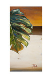 The Green Leaf II Prints by Patricia Quintero-Pinto