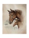 Race Horse I Premium Giclee Print by Ruane Manning
