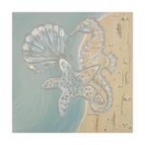 Pearl Beach II Giclée-Premiumdruck von  Hakimipour-ritter