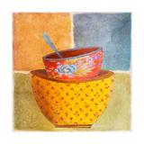 Collage Bowls II Premium-giclée-vedos tekijänä Patricia Pinto