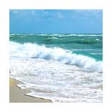 Teal Surf I Premium Giclee-trykk av Nicholas Biscardi