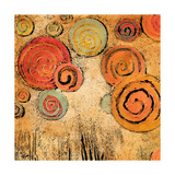 Spring Forward Square I Premium Giclee Print by Gina Ritter