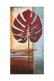 Red Leaves I Premium Giclée-tryk af Patricia Quintero-Pinto