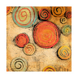 Spring Forward Square II Premium Giclee Print by Gina Ritter