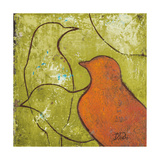 Lovely Birds VI Poster by Patricia Quintero-Pinto