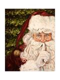 Secret Santa Giclée-Premiumdruck von Patricia Quintero-Pinto