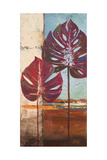 Red Leaves II Premium Giclee Print by Patricia Quintero-Pinto
