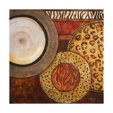 African Circles II Premium Giclée-tryk af Patricia Quintero-Pinto