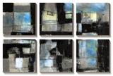 Black on Blue Prints by Jennifer Goldberger