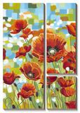 Vivid Poppies I Posters by Caroline Vitaletti
