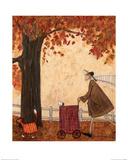 Following the Pumpkin Plakater av Sam Toft