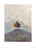 Love on a Mountain Top Schilderijen van Sam Toft
