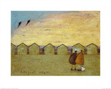 Kites at Dawn Prints by Sam Toft