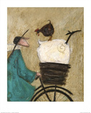 Taking the Girls Home Posters by Sam Toft