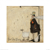 Bus Stop Blues Print by Sam Toft