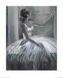 Ballerina Kunstdruck von Hazel Bowman