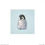 Pingüino Láminas por John Butler Art