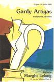 Maeght Lelong Samletrykk av Joan Gardy -artigas