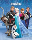 Il cast di Frozen-Il regno di ghiaccio Stampe