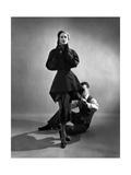 Vogue Bedruckte aufgespannte Leinwand von Cecil Beaton