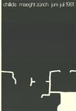 Maeght Zurich Stampa da collezione di Eduardo Chillida